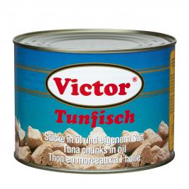 Tuna in cans – chunks in oil, yellowfin