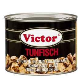 Tuna in cans – chunks in oil