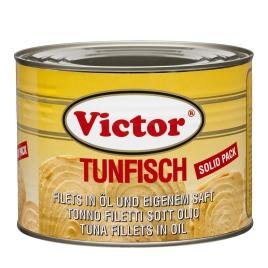 Tunfisch in Dosen – Filets in Öl, yellowfin