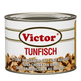 Tuna in cans – chunks in brine