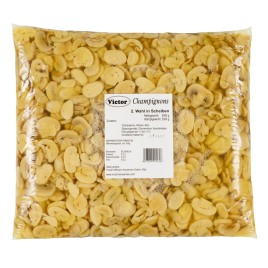 Mushrooms in PE Bags – second quality slices pasteurized