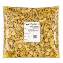 Mushrooms in PE Bags – third quality slices pasteurized