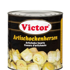 Artichoke hearts in cans
