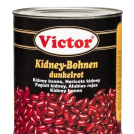 Kidney beans in cans