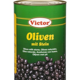 Olives in cans – with stone