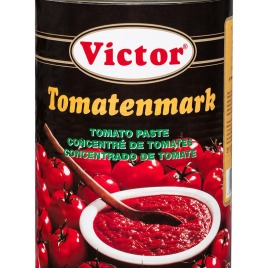 Tomato paste in cans – double concentrated