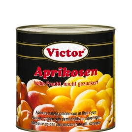 Apricots in can – 1/2 cut in light syrup