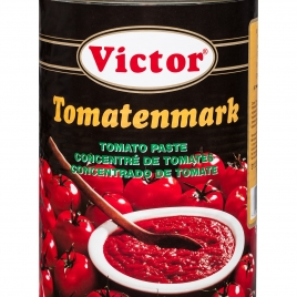 Tomato paste in cans – triple concentrated