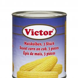Sweet corn on cob, 3 pieces